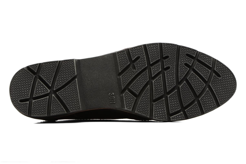 Chaussures à lacets Jana shoes Pomina Noir vue haut