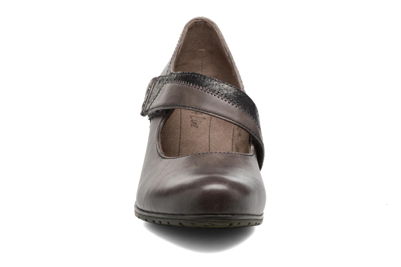 Zapatos de tacón Jana shoes Aciat Marrón vista del modelo