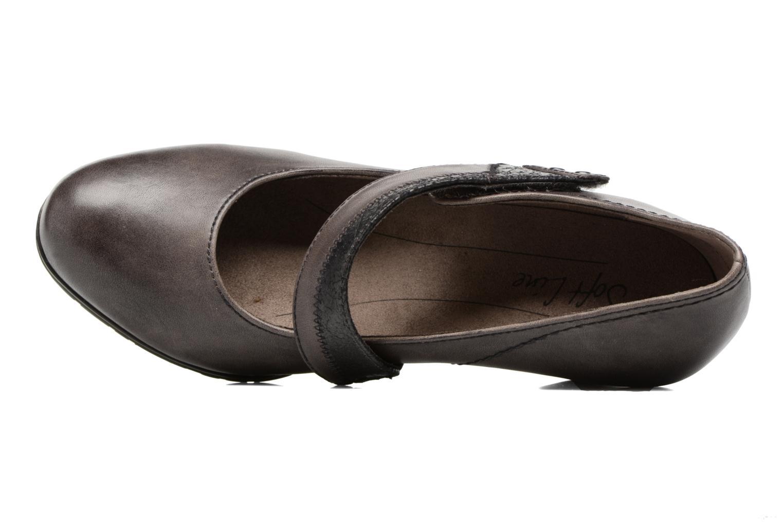Zapatos de tacón Jana shoes Aciat Marrón vista lateral izquierda