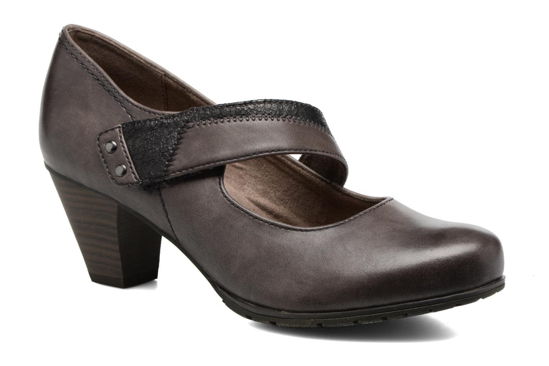 Zapatos de tacón Jana shoes Aciat Marrón vista de detalle / par