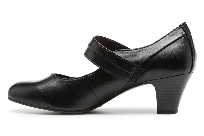 Escarpins Jana shoes Plati Noir vue face