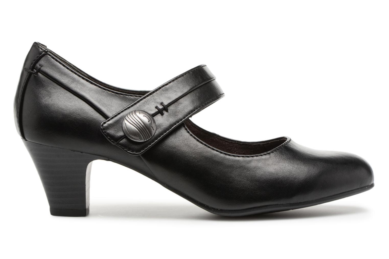 Escarpins Jana shoes Plati Noir vue derrière