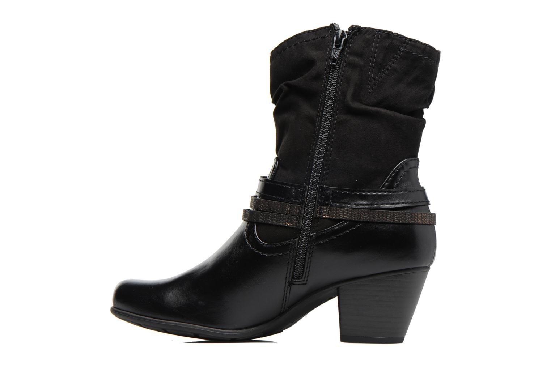 Bottines et boots Jana shoes Monie Noir vue face