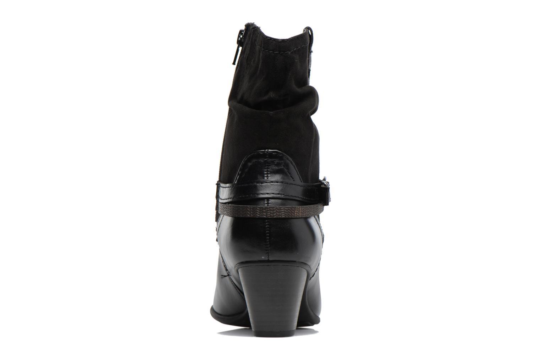 Bottines et boots Jana shoes Monie Noir vue droite