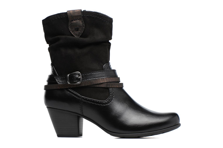 Bottines et boots Jana shoes Monie Noir vue derrière