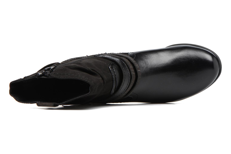 Bottines et boots Jana shoes Monie Noir vue gauche