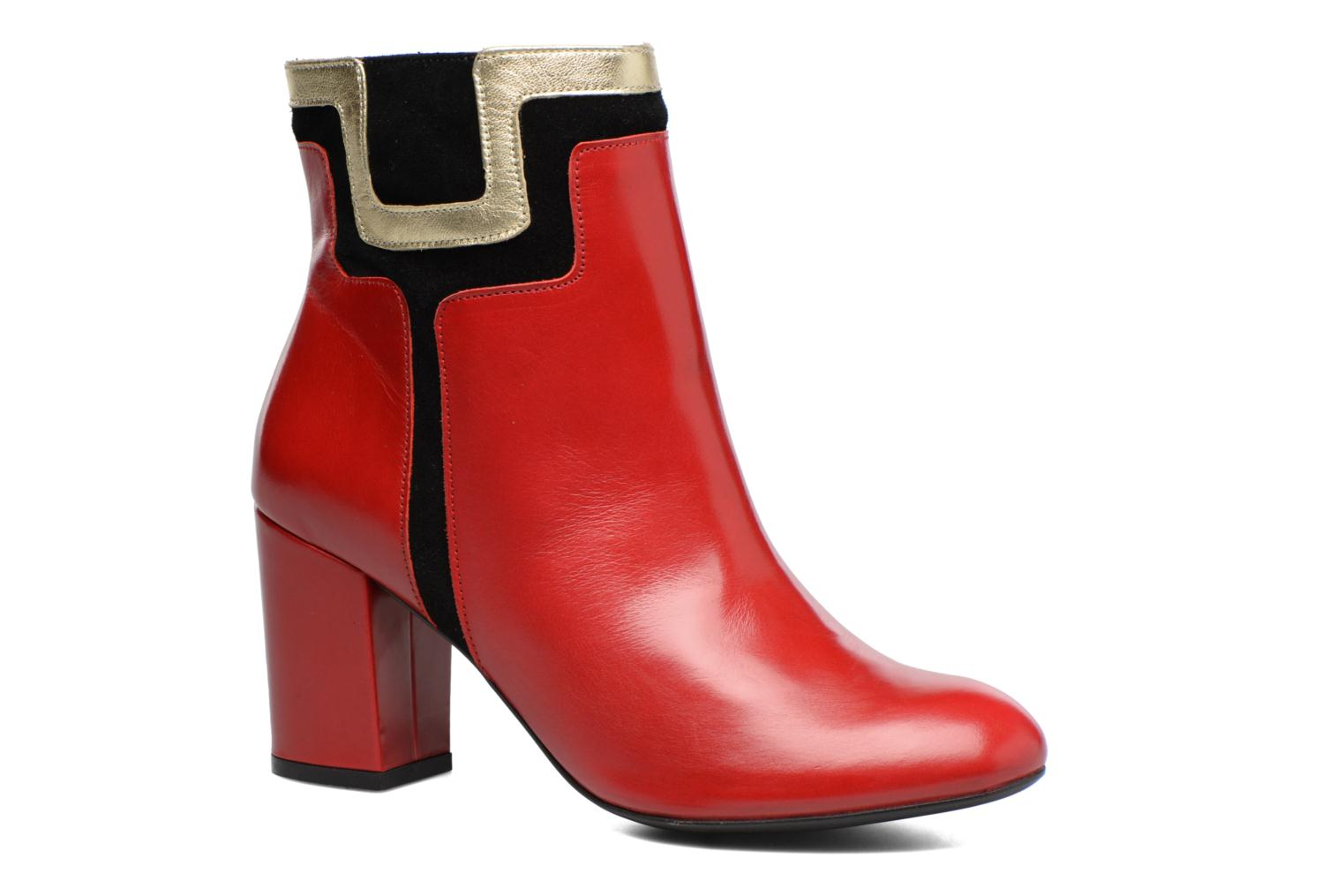 Bottines et boots Made by SARENZA Boots Camp #10 Rouge vue droite