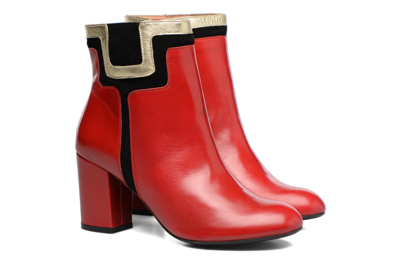 Bottines et boots Made by SARENZA Boots Camp #10 Rouge vue derrière