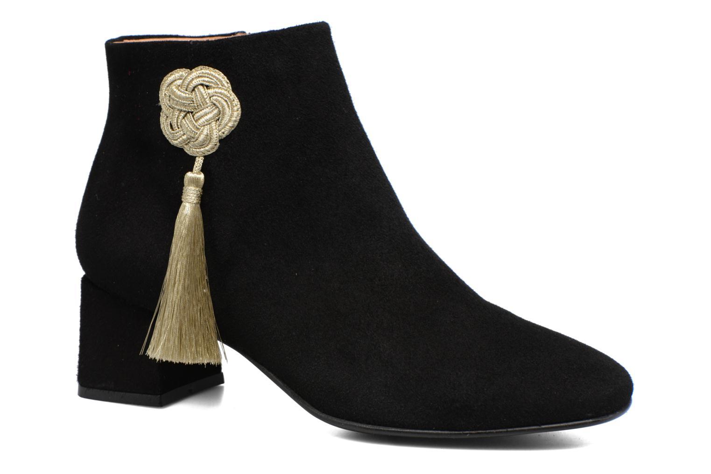 Boots Camp #3 Cuir velours noir