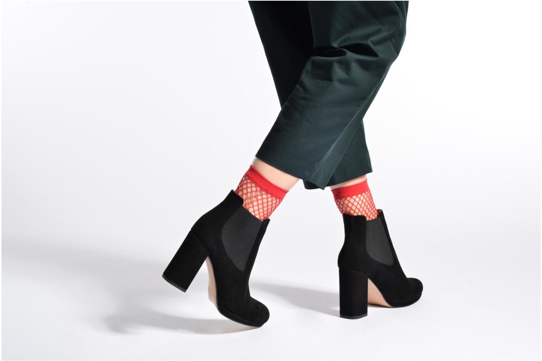 Bottines et boots Made by SARENZA Winter Freak #3 Argent vue bas / vue portée sac