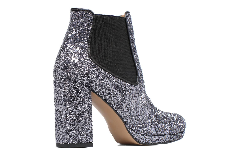 Bottines et boots Made by SARENZA Winter Freak #3 Argent vue face