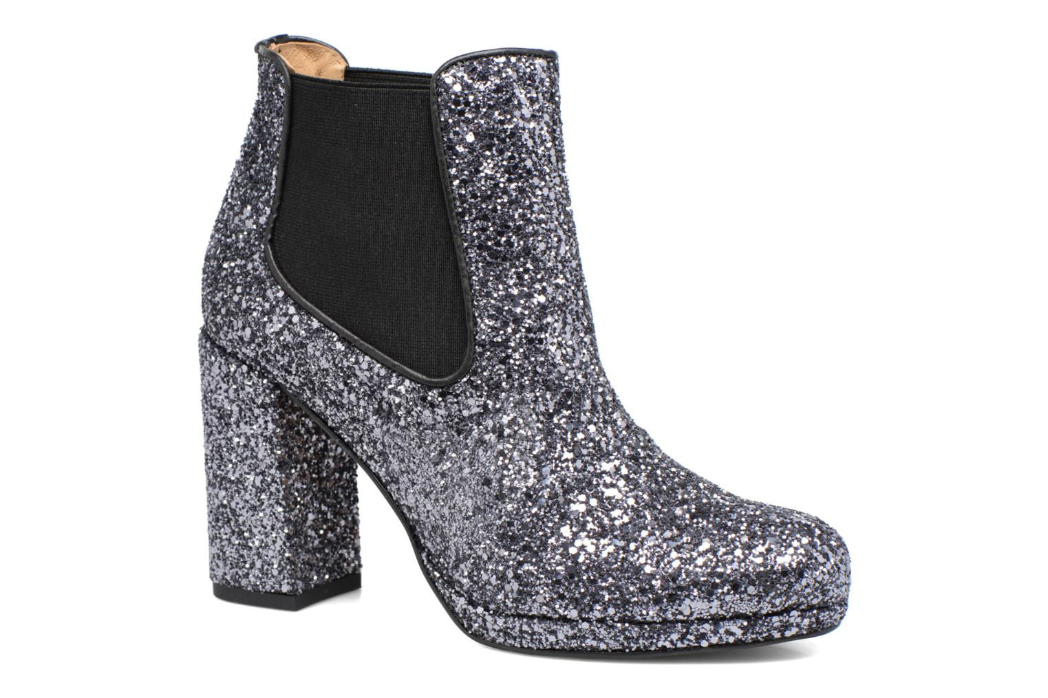 Ankle boots Made by SARENZA Winter Freak #3 Silver view from the right