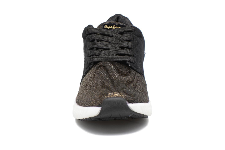 Baskets Pepe jeans SUTTON LACES Noir vue portées chaussures