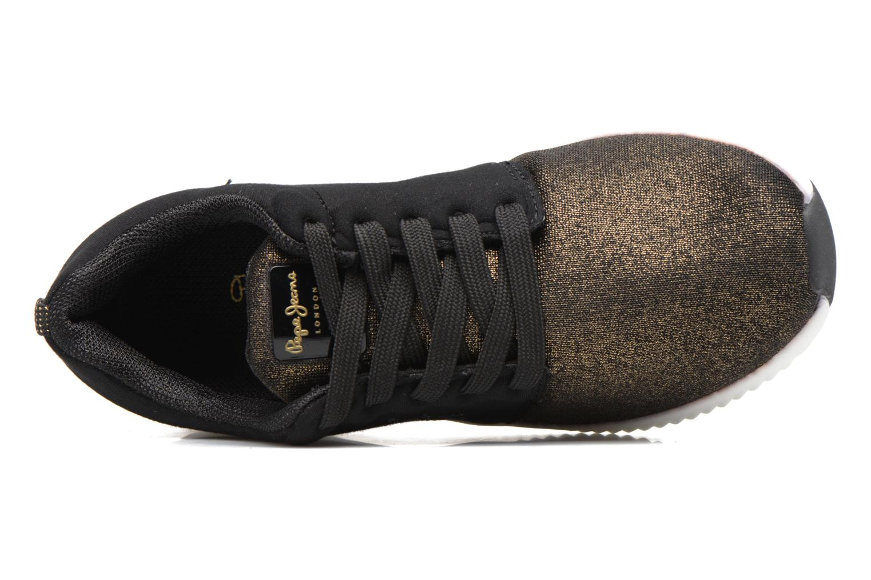 Baskets Pepe jeans SUTTON LACES Noir vue gauche