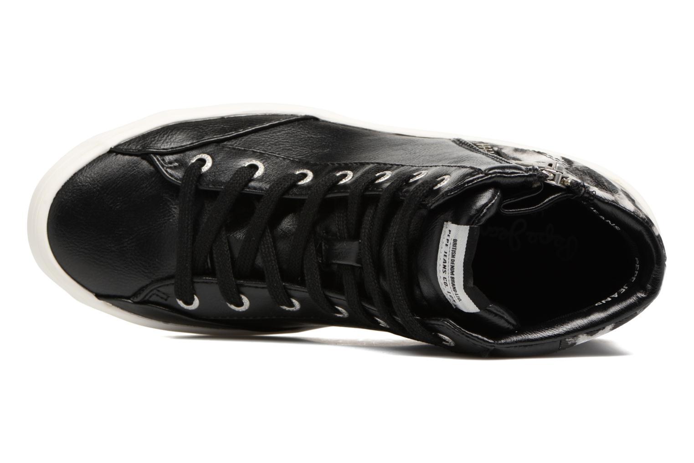 Baskets Pepe jeans CLINTON SUE Noir vue gauche