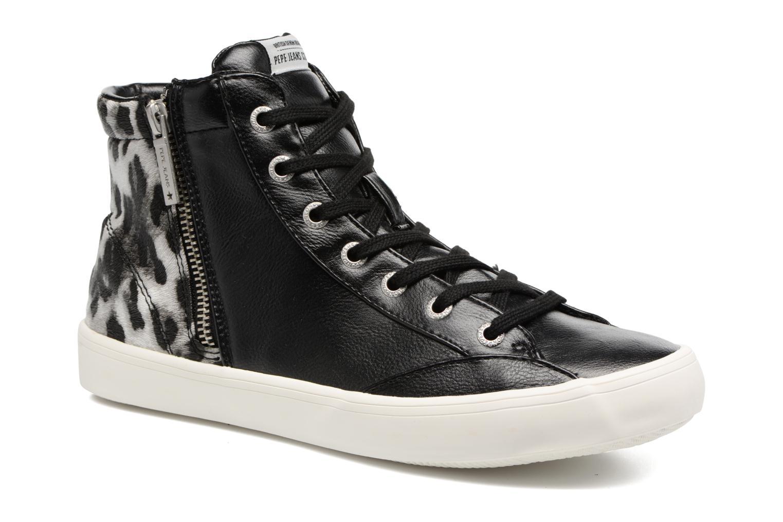 Baskets Pepe jeans CLINTON SUE Noir vue détail/paire