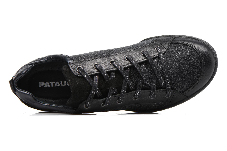 Baskets Pataugas Pacha Noir vue gauche