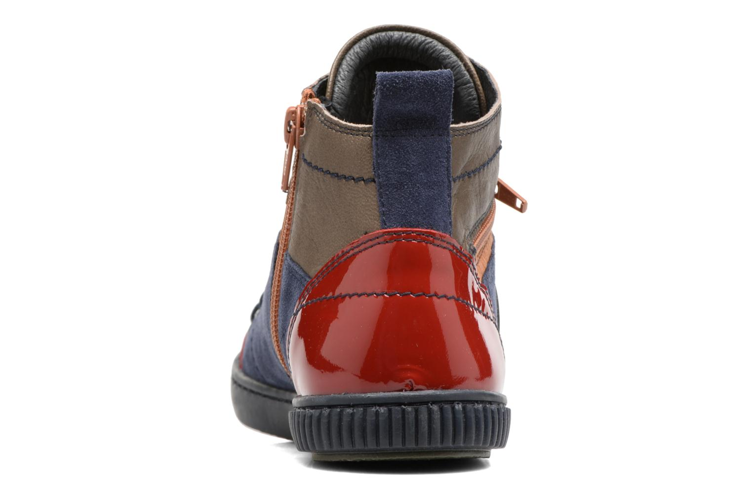 Trainers Pataugas Banjou/Mc Multicolor view from the right