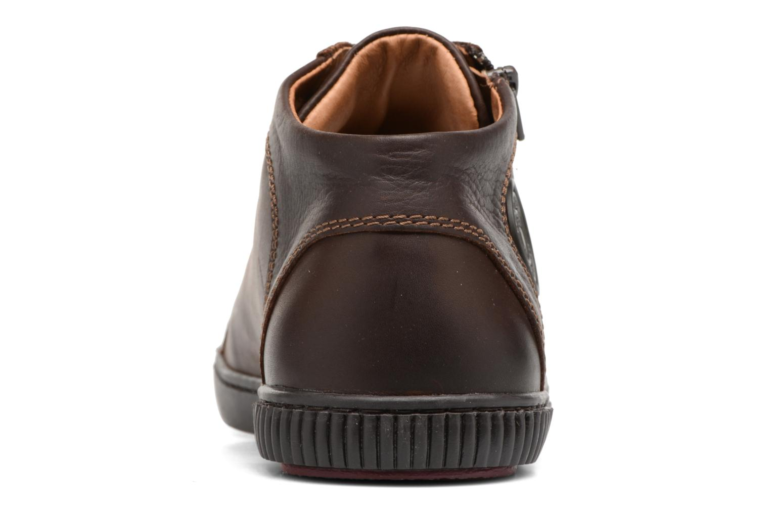 Trainers Pataugas Bumper/W Brown view from the right