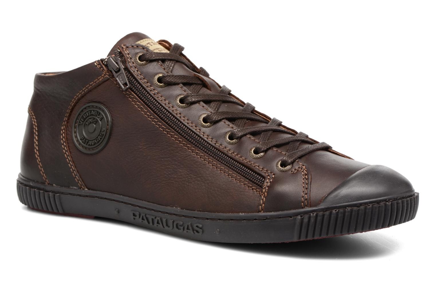 Trainers Pataugas Bumper/W Brown detailed view/ Pair view