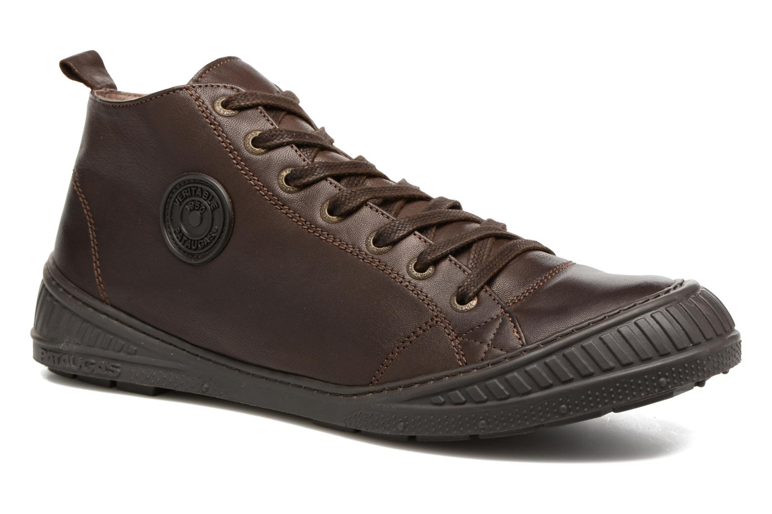 Trainers Pataugas RockerN M 2 Brown detailed view/ Pair view