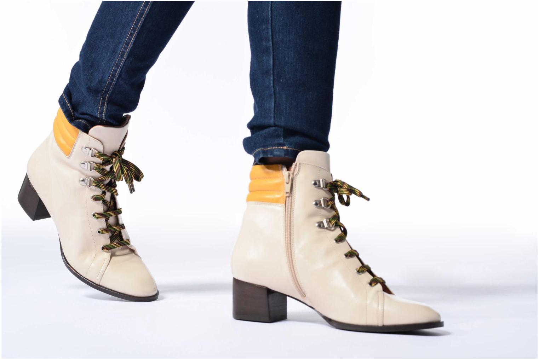 Bottines et boots Made by SARENZA Winter Ski #7 Beige vue bas / vue portée sac