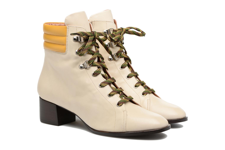 Bottines et boots Made by SARENZA Winter Ski #7 Beige vue derrière