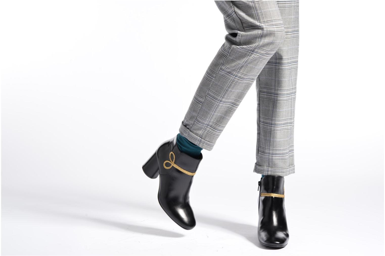 Bottines et boots Made by SARENZA Boots Camp #14 Noir vue bas / vue portée sac