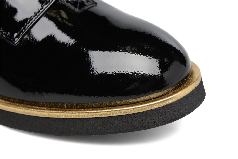 Partygloo #8 Cuir Vernis Noir