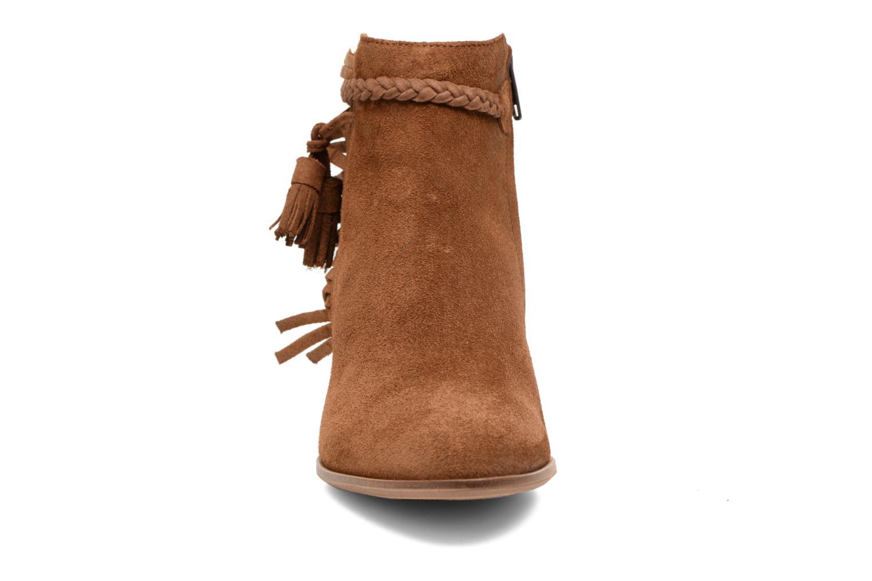 Bottines et boots Schmoove Woman Secret Aras Croute vintage Marron vue portées chaussures