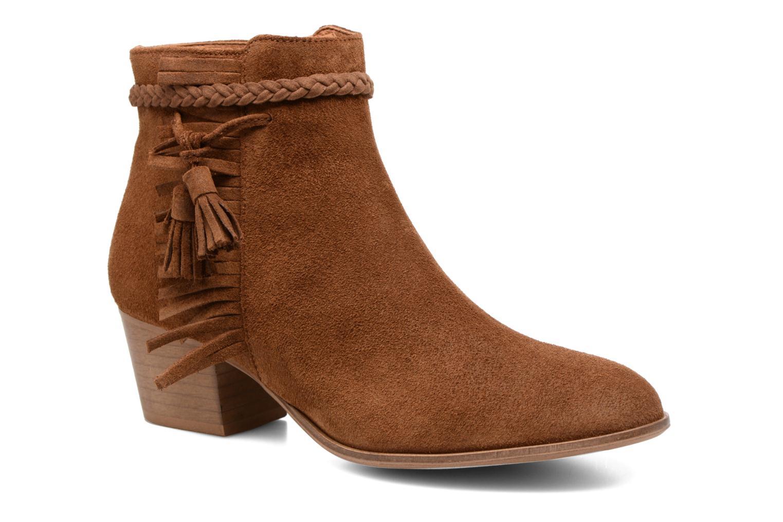 Bottines et boots Schmoove Woman Secret Aras Croute vintage Marron vue détail/paire