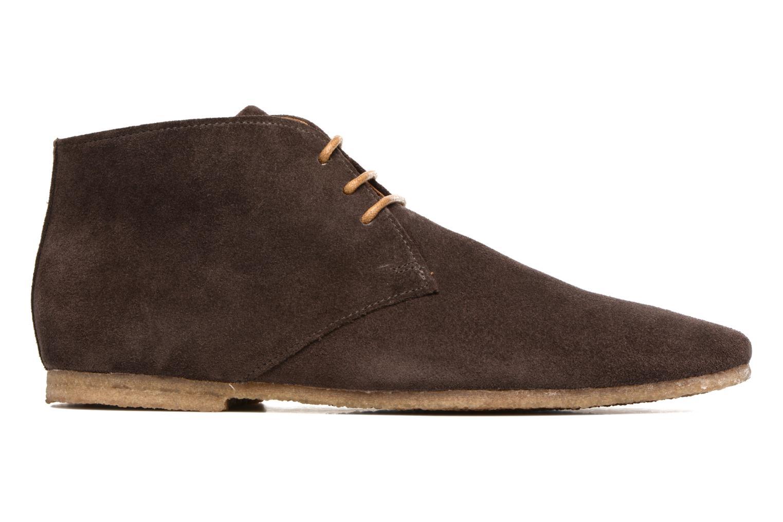 Chaussures à lacets Schmoove Creps Desert Cowsuede Marron vue derrière