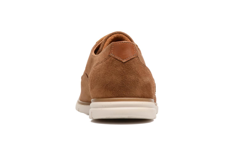Chaussures à lacets Schmoove Shaft Club Suede Marron vue droite