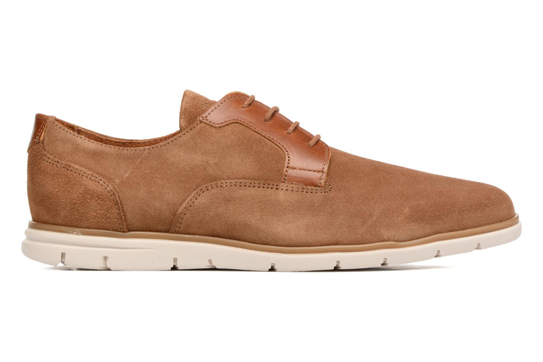 Chaussures à lacets Schmoove Shaft Club Suede Marron vue derrière