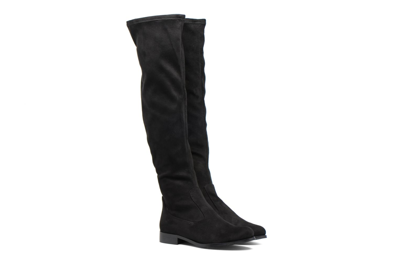 Boots & wellies Made by SARENZA Boots Camp #6 Black back view