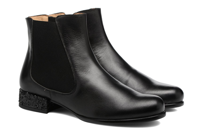 Bottines et boots Made by SARENZA Winter Freak #4 Noir vue derrière