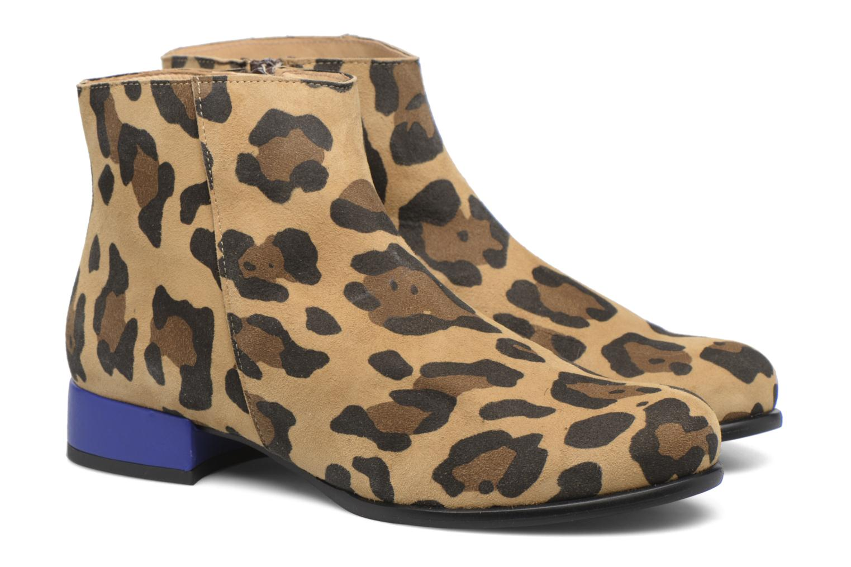Bottines et boots Made by SARENZA Winter Freak #7 Marron vue derrière