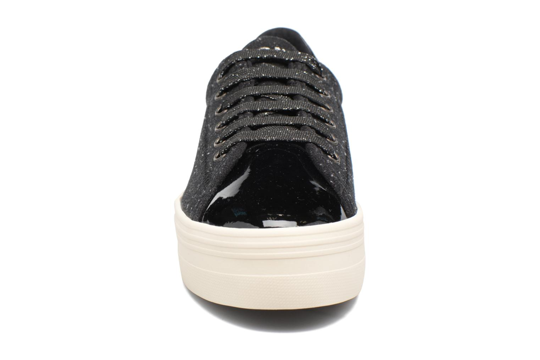 Baskets No Name Plato sneaker patent Noir vue portées chaussures