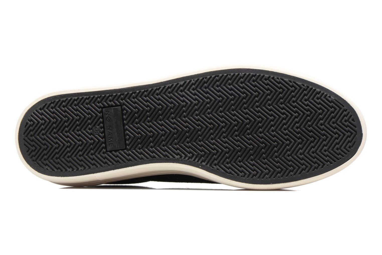 Baskets No Name Plato sneaker patent Noir vue haut
