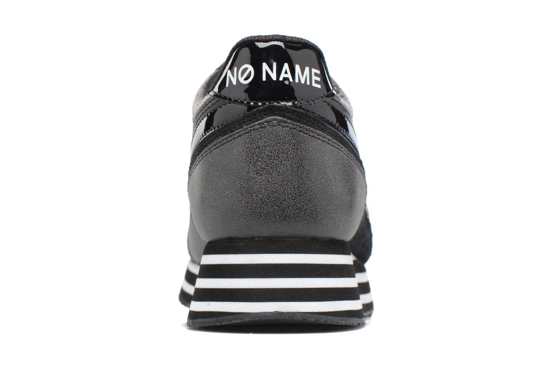 Sneakers No Name Parko jogger play suede Nero immagine destra