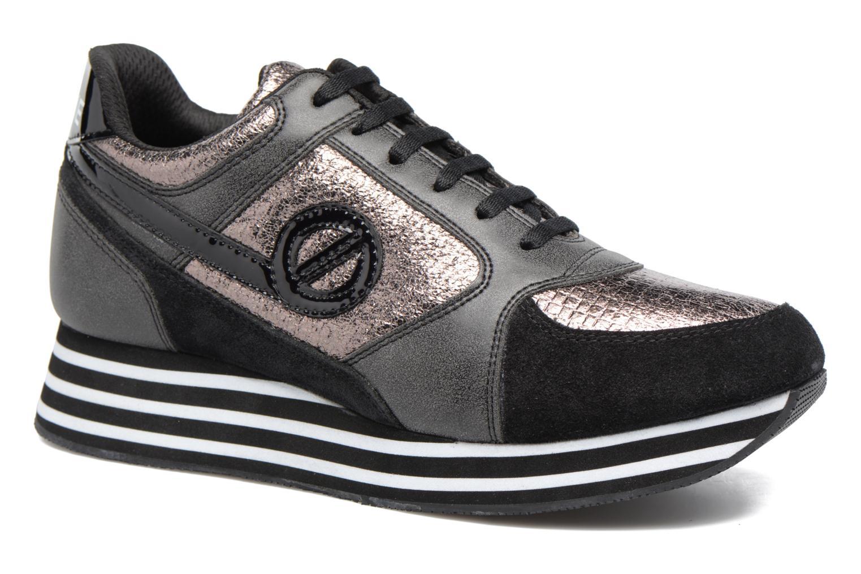 Sneakers No Name Parko jogger play suede Nero vedi dettaglio/paio