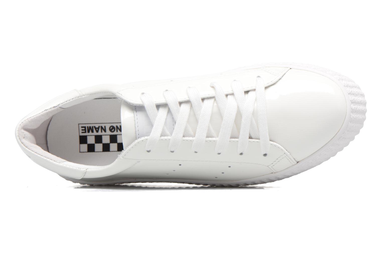 Baskets No Name Wild sneaker patent Blanc vue gauche