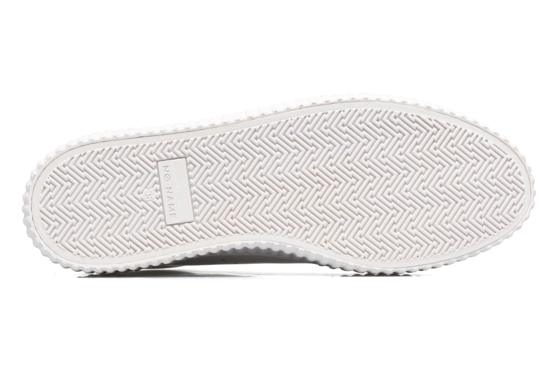 Baskets No Name Wild sneaker patent Blanc vue haut