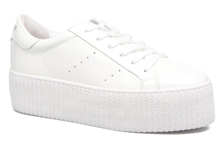 Baskets No Name Wild sneaker patent Blanc vue détail/paire
