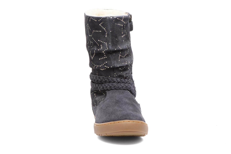Bottes Shoo Pom Play Freeze Bleu vue portées chaussures