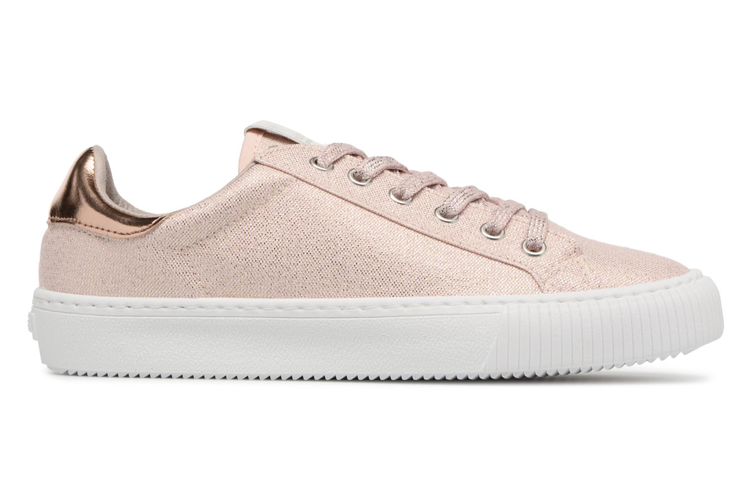 Trainers Victoria Deportivo Lurex Pink back view