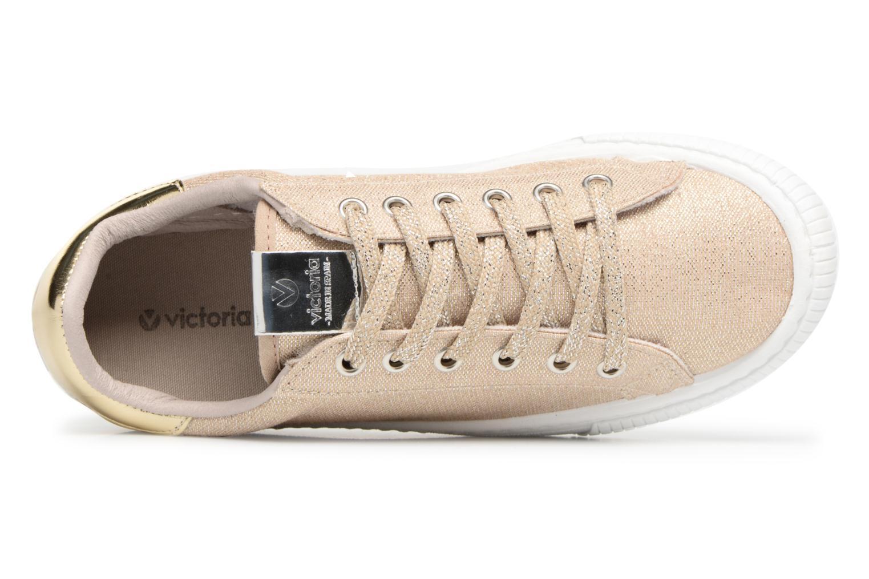 Sneakers Victoria Deportivo Lurex Goud en brons links