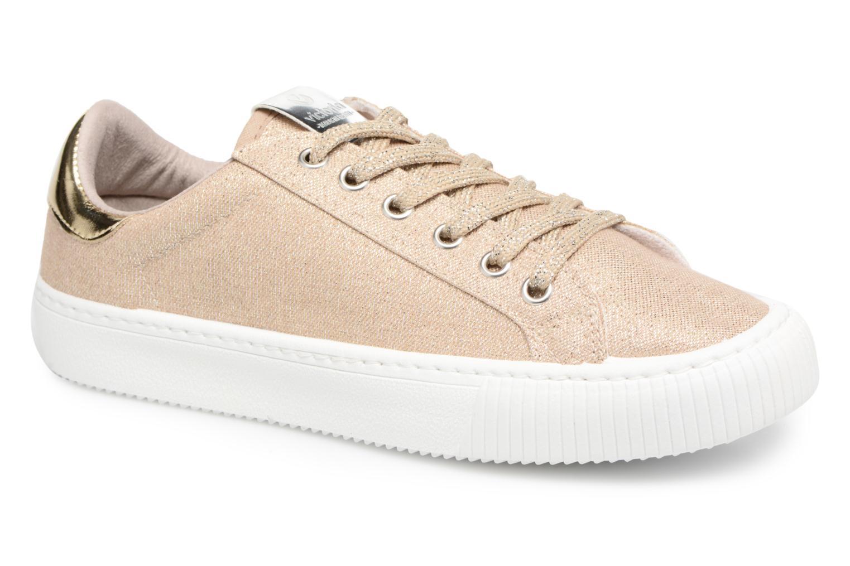 Sneakers Victoria Deportivo Lurex Goud en brons detail