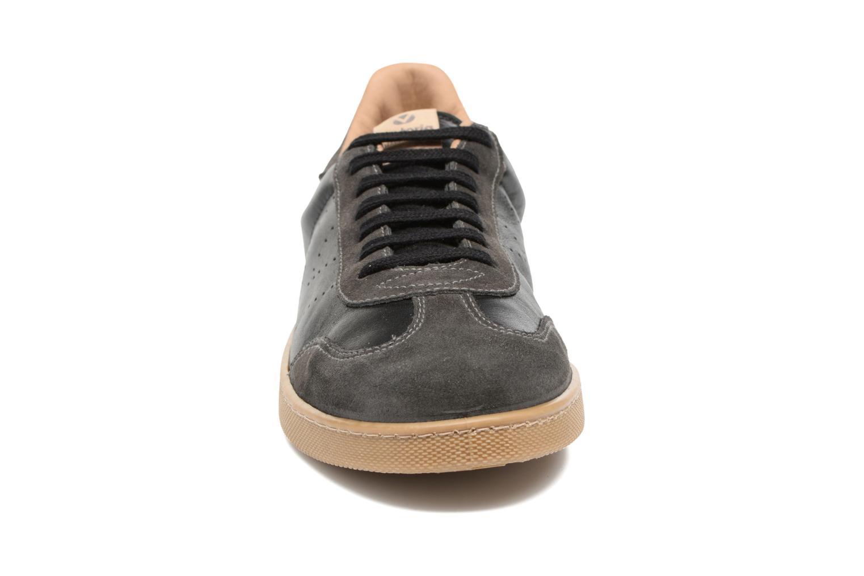 Baskets Victoria Deportivo Ciclista Piel Noir vue portées chaussures