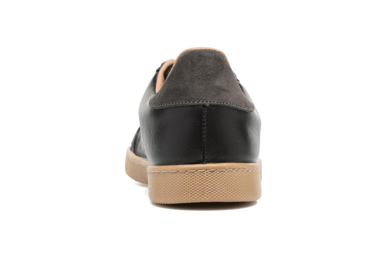 Sneakers Victoria Deportivo Ciclista Piel Zwart rechts